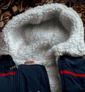 Комбинезон детский зимний на меху