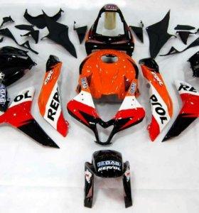 Новый Пластик на Honda CBR600RR 2009 - 2012 Repsol