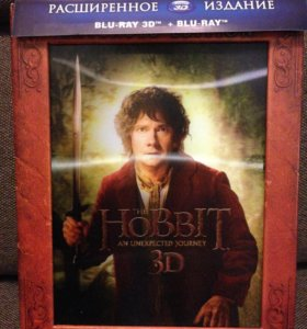 Blu-ray Хоббит Нежданное путешествие