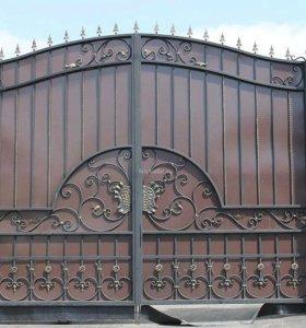 Кованые ворота арт.5