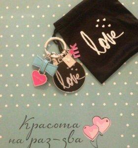Брелок для ключей и косметичка Mary Kay