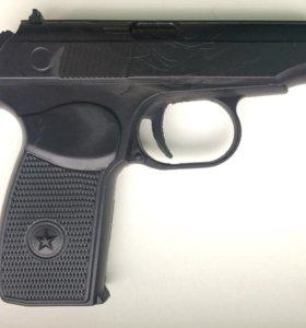 Пистолет ПМ (Макарова) тренировочный мягкий