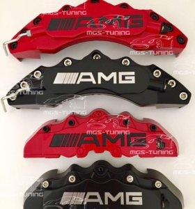 Накладки на тормозные диски AMG