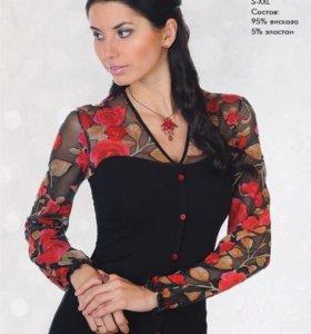 Блуза корсет