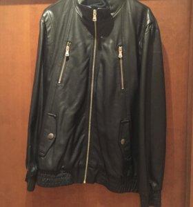 Куртка из кожзаменителя мужская 48-50 р-р.
