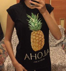 Футболка с ананасом