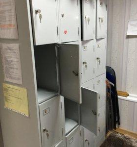 Ящики для раздевалки ( 8 ячеек)