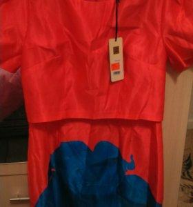 Платье новое р 48