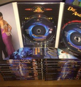 Коллекция James Bond 007 DVD диск издание