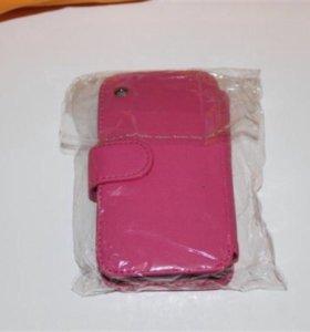 Чехол iPhone 3 3G розовый