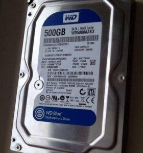 Жесткий диск на 500 gb