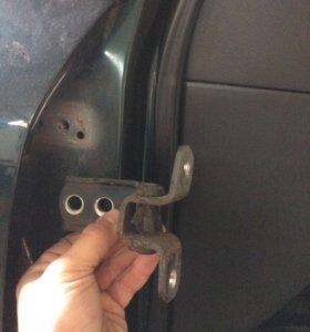Ремонт автомобильных дверных навесов