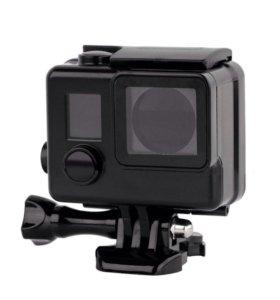 Чёрный защитный бокс для камер GoPro Hero 3/3+/4
