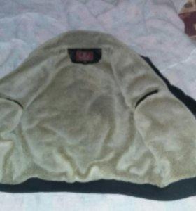 Продам меховую кожоную куртку