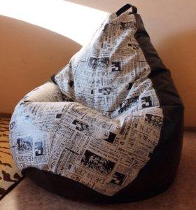 Кресло-груша мебельная ткань