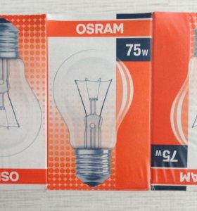 Лампа накаливания OSRAM 75 Вт
