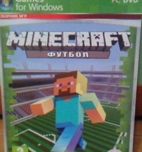 """Игра """"Minecraft с модом на футбол"""""""