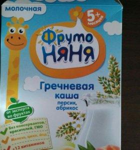 Каша гречневая молочная детская
