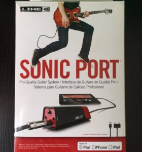 Line 6 Sonic Port + 12 платных приложений