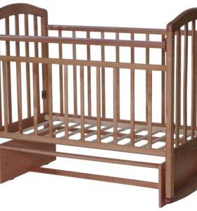 Кроватка-маятник Алита 3 бук