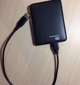 Внешний HDD WD Elements Portable