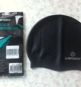 Плавательная шапочка Larsen (новая)