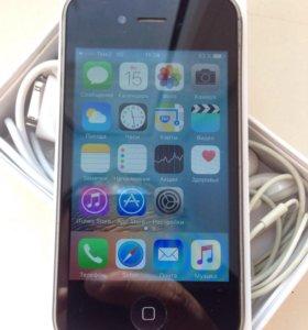 Айфон 4s 16гб черный