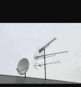 Телевидение, антенны, ресиверы.
