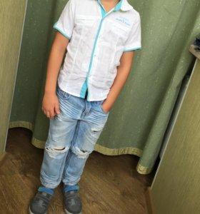Джинсы и рубашка doctor junior