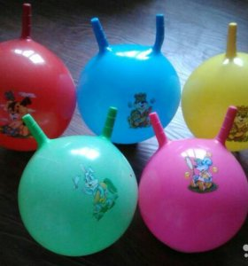 Мячики с рожками