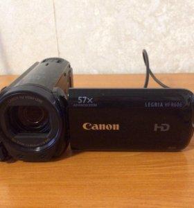 Видеокамера Canon legria HF R606 Black
