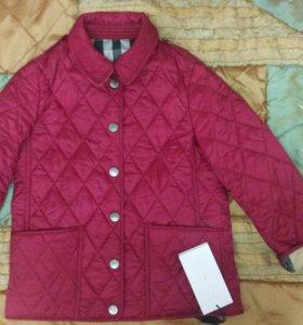 Новая стеганая куртка Burberry 6 лет
