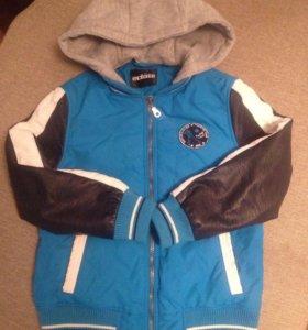 Демисезонная курточка Акула для мальчика, 134-140