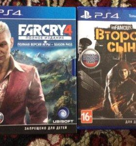 Far cry 4, infamous: второй сын
