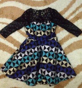Платье калейдоскоп