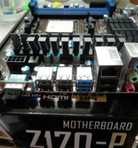 Материнская плата+процессор