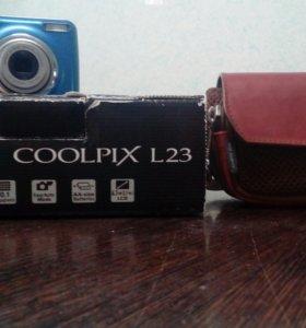 Фотоаппарат Nikon Cooplix L23