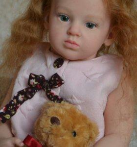 Кукла реборн Эмилия