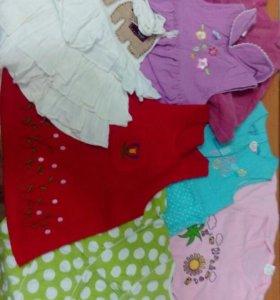 (3фото)Вещи на девочку 1,5-2 года