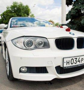 Кабриолет BMW на свадьбу и иные торжества
