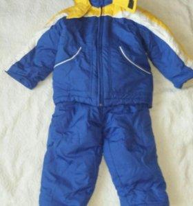 Куртка детская с комбинезоном