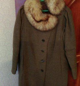 Пальто зима 48-50