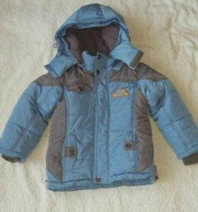 Куртка детская, осень-зима.
