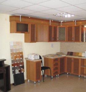 Кухня НОВАЯ угловая вставки с ротанга