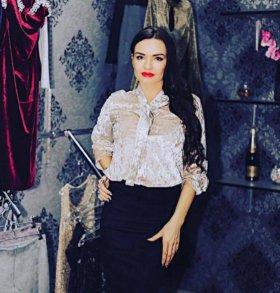 Блузка из бархата