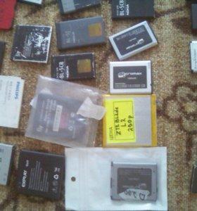 Аккумуляторы к телефонам