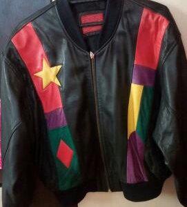 Куртка женская бомбер натуральная кожа