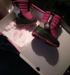 Новые ботиночки зимние 22