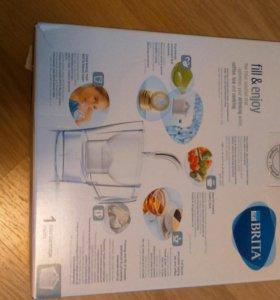 Новый фильтр для воды Brita с картириджем