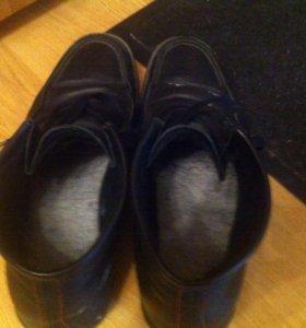 Ботинки мужские зимние р-р45